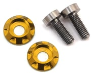 """175RC 3x8mm Titanium """"High Load"""" Motor Screws (Gold) 