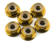 175RC Lightweight Aluminum M3 Flanged Lock Nuts (Gold) (6) | product-also-purchased