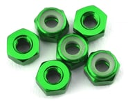 175RC Lightweight Aluminum M3 Lock Nuts (Green) (6)   product-also-purchased