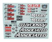 Team Associated RC8 B3.2 Decal Sheet   product-related