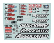 Team Associated RC8T3.2 Decal Sheet | product-also-purchased