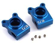 Team Associated RC10B74.1 Factory Team Aluminum Rear Hubs (Blue) | product-related