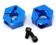 Team Associated 12mm Aluminum Front Clamping Wheel Hex Set (Blue) (2) | product-also-purchased