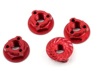 Avid RC Triad 4mm Light Weight Serrated Wheel Nut Set (4) (Red) | product-also-purchased