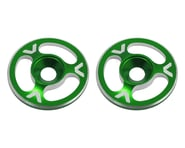 Avid RC Triad Wing Mount Buttons (2) (Green) | product-related