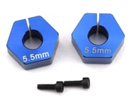 Custom Works 12mm Outlaw 4 Clamping Hex (2) (+5.5mm Offset) (5mm Axle) | product-also-purchased