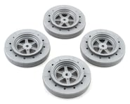 DE Racing Gambler Drag Racing Front Wheels (Silver) | product-also-purchased