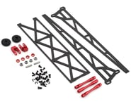 """DragRace Concepts 10"""" Slider Wheelie Bar w/Plastic Wheels (Red) (Mid Motor) 