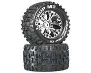 """DuraTrax Lockup MT 2.8"""" 2WD Mounted Rear C2 Tires (Chrome) (2)   product-also-purchased"""