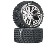 """DuraTrax Picket ST 2.8"""" 2WD Mounted 1/2"""" Offset Tires (Chrome) (2)   product-also-purchased"""
