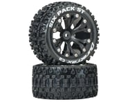 """DuraTrax Sixpack ST 2.8"""" 2WD Rear Mounted Truck Tires (Black) (2) 