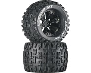 """DuraTrax Lockup MT 3.8"""" Mounted 1/2"""" Offset Tires, Black (2) 