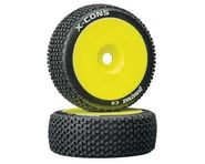 DuraTrax X-Cons Pre-Mounted  1/8 Buggy Tire (Yellow) (2) (C2 - Soft)   product-also-purchased
