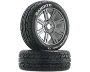 DuraTrax Bandito 1/8 Mounted Buggy Tires (Chrome) (2) (C2) | product-related
