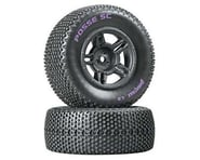 DuraTrax Posse Pre-Mounted Short Course Tire (Black) (2) (Soft - C2) | product-also-purchased