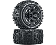 """DuraTrax Lockup Pre-Mounted Stadium Truck 2.2"""" Tires (Black) (2) 