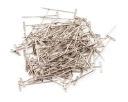 """DuBro 1-1/4"""" Nickel Plated T-Pins (100) 