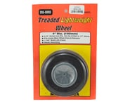"""DuBro 4"""" Treaded Lite Wheel 