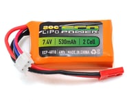 """EcoPower """"Electron"""" 2S LiPo 20C Battery (7.4V/530mAh) 
