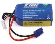 E-flite 6S LiPo Battery 30C (22.2V/910mAh) w/EC3 Connector | product-related