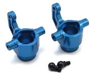 Exotek Losi LST 3XL Aluminum Front Steering Hubs (Blue) (2) | product-related