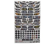 """Firebrand RC Headlights Multi-Fit Decal Sheet (8.5x14"""") 