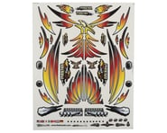 """Firebrand RC Concept Phoenix Decal (Orange) (8.5x11"""")   product-also-purchased"""