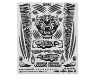 """Firebrand RC Concept Tiger Decal Sheet (Black) (8.5x11"""") 