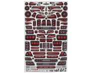 """Firebrand RC Tail Lights Multi-Fit Decal Sheet (8.5x14"""") 