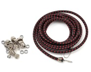 Hot Racing 1/10 Bungee Cord Kit (Black/Red) | product-also-purchased