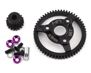 Hot Racing Traxxas 32P Steel Pinion & Spur Gear Set (Purple) (18T/56T) | product-related