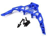 Hot Racing Axial Yeti Aluminum Front Upper Chassis Bulkhead Clip (Blue) | product-related