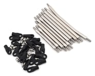 """Incision Wraith 1.9/SCX10 II 12"""" Wheelbase 1/4"""" Stainless Steel Link Kit 