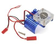 Team Integy 540/550 Motor Heatsink & Cooling Fan (Blue) | product-also-purchased