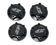 JConcepts Fin 17mm 1/8th Serrated Light Weight Wheel Nut (Black) (4) | product-related