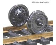"Kadee HO Metal Wheels, 36""/Ribbed (12)   product-related"