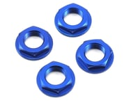King Headz 17mm Fine Thread Flanged Wheel Nut (Blue) (4) | product-also-purchased