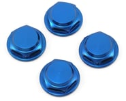 King Headz 17mm Fine Thread Flanged Closed End Wheel Nut (Blue) (4) | product-also-purchased