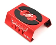 Kyosho Car Maintenance Stand w/Shock Holder & Magnet (Red) | product-related