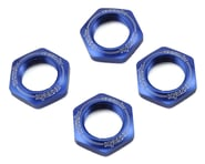 Kyosho 17mm 1/8 Serrated Wheel Nut (Blue) (4)   product-related