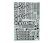 Kyosho ZX7 Decal Sheet | product-related