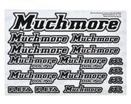 Muchmore Decal Sheet (Black) | product-related