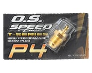 """O.S. P4 Gold Turbo Glow Plug """"Super Hot"""" 