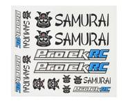 ProTek RC Samurai Sticker Sheet | product-related