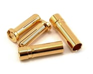 """ProTek RC 5.0mm """"Super Bullet"""" Solid Gold Connectors (2 Male/2 Female) 