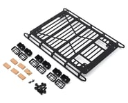 RC4WD CChand TRX-4 Mercedes-Benz G500 Adventure Roof Rack w/Light Buckets | product-also-purchased