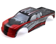 Redcat Rampage MT/XT Pre-Painted Monster Truck Body (Red/Silver) | product-also-purchased
