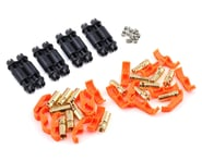"""RCPROPLUS D6 """"Solderless"""" Supra X Battery Connector Set (4 Sets) 