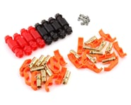 """RCPROPLUS DC6 """"Solderless"""" Supra X Battery Connector Set (4 Sets) 