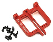 SAB Goblin Aluminum Front Servo Support Set (2) (Red) | product-related